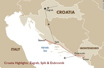 Croatia Highlights: Zagreb, Split & Dubrovnik