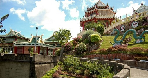 Taoist temple and garden