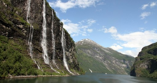 You will see the Seven Sisters during your trip to Norway.