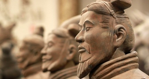 Experience the famous Terracotta warriors of Xian on your China Tour.