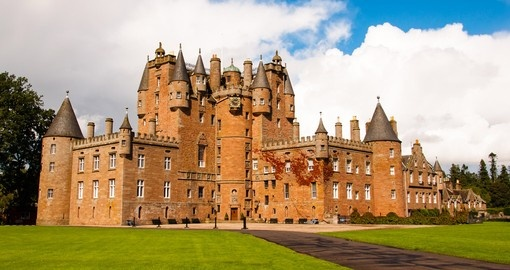 Visit Glamis Castle, explore its history and beauty during your next trip to Scotland.