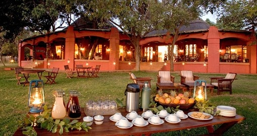 Located in the heart of Chobe National Park, Chilwero is the perfect base for your Botswana safari