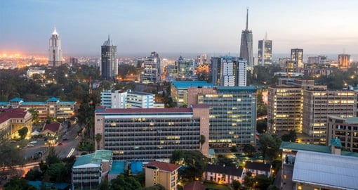 Explore Modern Nairobi during your next trip to Kenya.