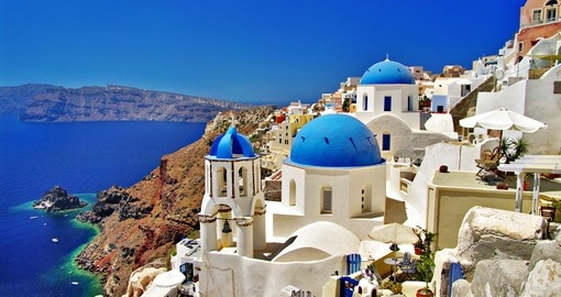 Amazing Santorini - in the Greek Islands