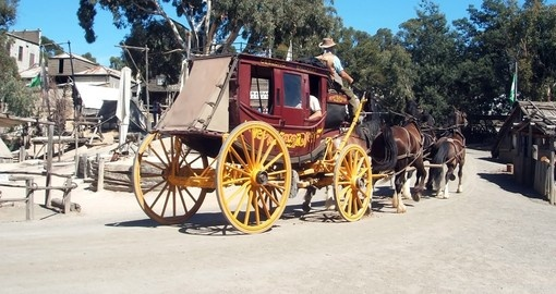 Visit the historic gold rush towns of Ballarat and Sovereign Hill