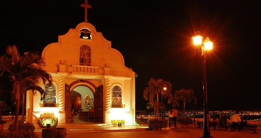 Visit beautiful traditionally architectured church in Guayaquill during your Ecuador vacations.