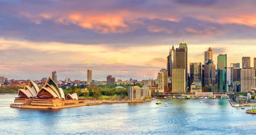 Spectacular Sydney has visual wow factor like few other cities