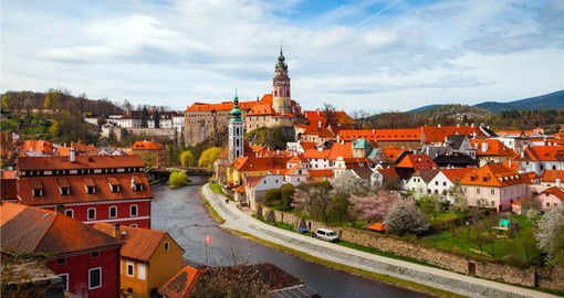 Visit Cesky Krumlov on your European Tour