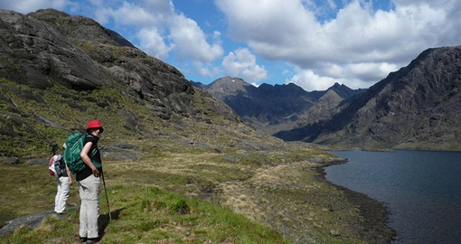 Explore Loch Coruisk on your trip to Scotland