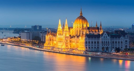 You will visit Budapest during your cruise in Austria