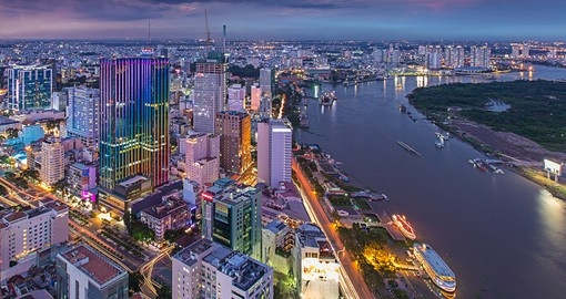 Discover an amazing Ho Chi Minh City during your next Vietnam tours.