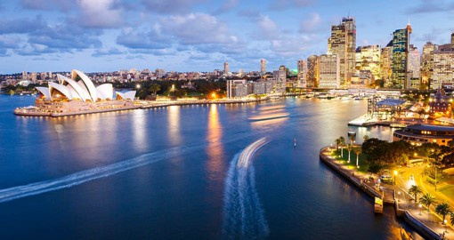 Located between two Sydney icons - the Harbour Bridge and Opera House, Circular Quay is Sydney's main ferry terminal