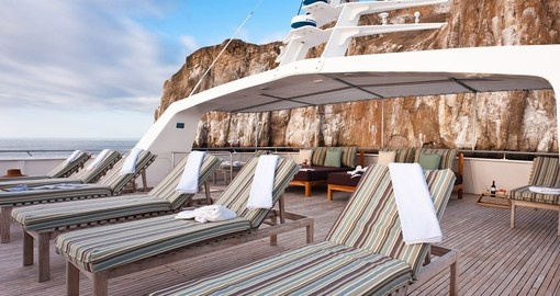 Catch sun some on your Galapagos Cruise