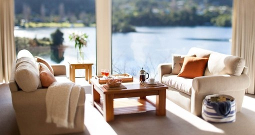 Indulge in the luxury of a Villa Suite during your New Zealand Vacation
