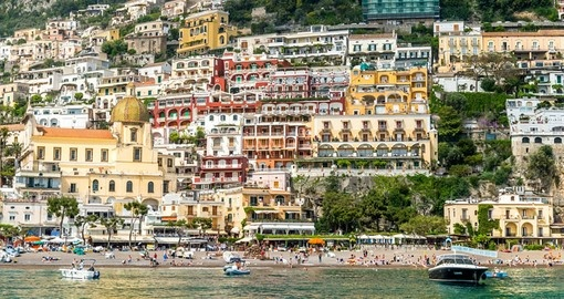 Include a sunset cruise from Positano as part of your Italy Vacation