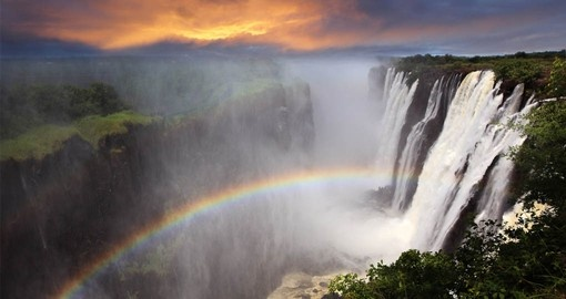 The magnificent Victoria Falls are a highlight of a Zambia vacation