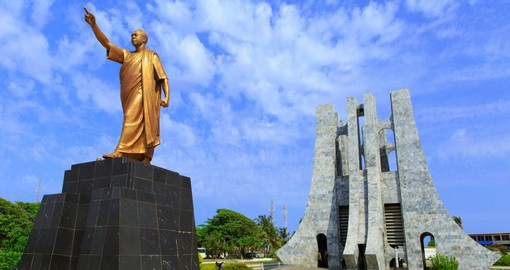 Kwame Nkrumah Mausoleum is dedicated to the first Prime Minister and President of Ghana
