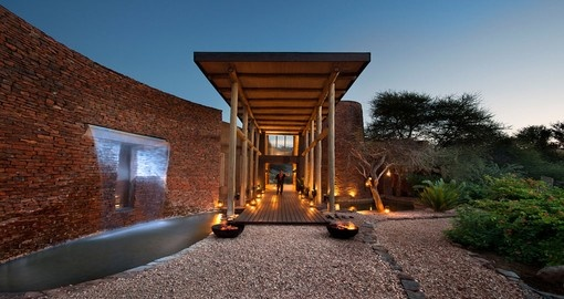 Your 4 day South Africa vacation features a stay at the Marataba Safari Lodge.