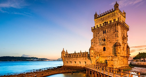 The Belem Tower in Lisbon