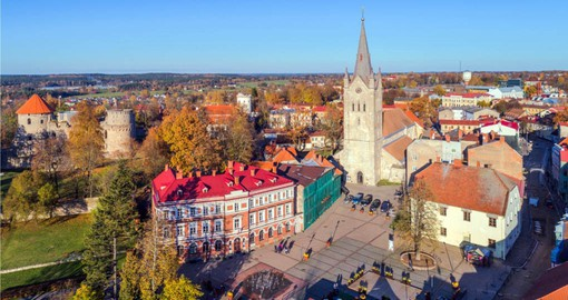 Visit Cesis, Latvia on your Europe trip