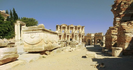 Once the most important trading centre in the Mediterranean, Ephesus was founded in the eleventh century BC