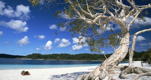 Visit Lake Mckenzie on Fraser Island during your Australia Vacation