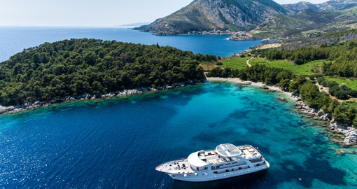Relax and watch the Dalmatian coast float by on your Croatia Cruise