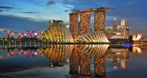 Immerse yourself in the modern yet cultural landscape that is Singapore on your Singapore Vacation