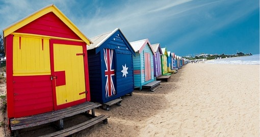 Stroll Brighton Beach, Melbourne on your Australia Vacation