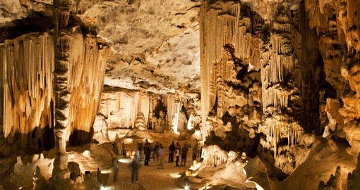 Visit the Throne Room in the Cango Caves on your South African Vacation