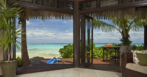 Enjoy all the amenities of the Sea Change Villas during your next Cook Island vacations.