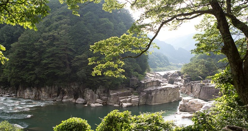 Take a hike in the Kiso Valley on your Japan Tour