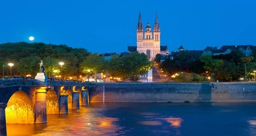 Cityscape of Angers