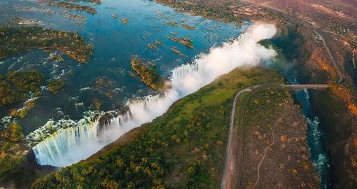 Surely one of the most memorable place is breathtaking Victoria Falls.