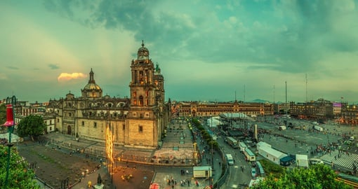 View Sprawling Mexico City on your trip to Mexico