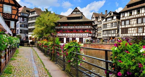 Once the home of fishermen, millers and tanners, Le Petite France is Strasbourg's most picturesque district