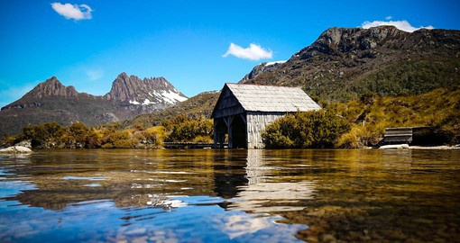 The alpine wilderness of Tasmania's Cradle Mountain-Lake St Clair National Park