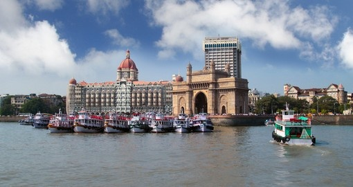 Gateway of India and the Taj Hotel