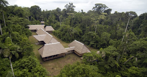Stay at Tambopata Lodge on your trip to Peru