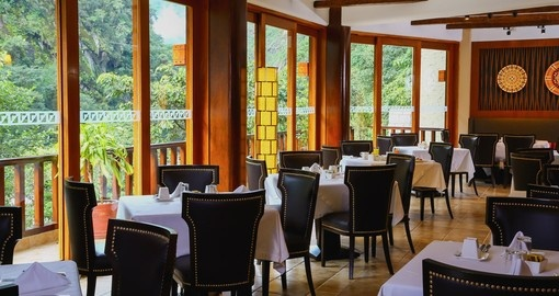 Enjoy fine dining at the Sumaq Hotel on your Peru Vacation.