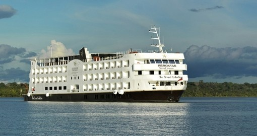 Cruise the Amazon on the Iberostar on your Brazil Tour