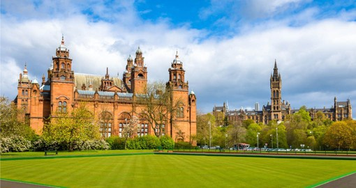 Glasgow's Kelvingrove Art Gallery & Museum is located on Argyle Street near the University
