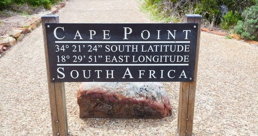 Cape Point makes for a great photo op while on Cape of Good Hope tours.