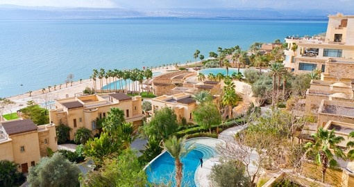 Travelling the Dead Sea coastline is a popular thing to do while on Dead Sea tours.