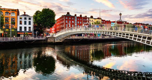 Founded by the Vikings, Dublin city is a living museum of its history
