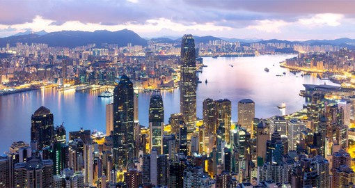 A city of charm and sophistication, Hong Kong  offers cultural diversity and a cosmopolitan lifestyle