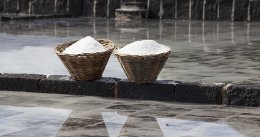 Salt production in Mauritius