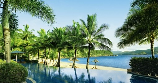 Stay at the Hamilton Island Beach Club during your trip to Australia.