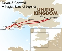 Devon & Cornwall: A Magical Land of Legends: London to London