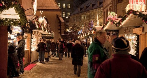 Basel hosts an annual Christmas Market on Barfusserplatz, a highlight of your Switzerland holiday